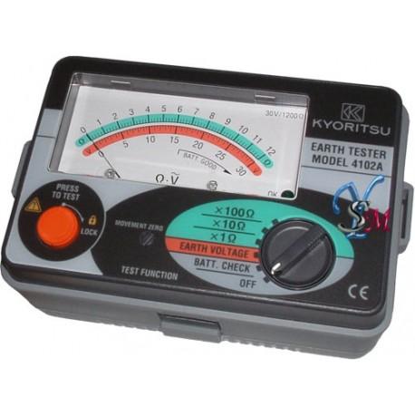 Đồng hồ đo điện trở đất Kyoritsu: Hiển thị 4102A