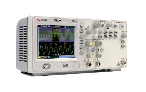 Máy hiện sóng số KEYSIGHT DSO1012A (100 MHz, 2 GSa/sec, 2 kênh)