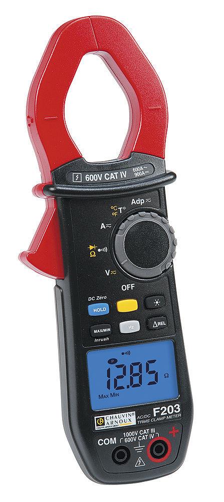 Ampe kìm vạn năng điện tử Chauvin model F203