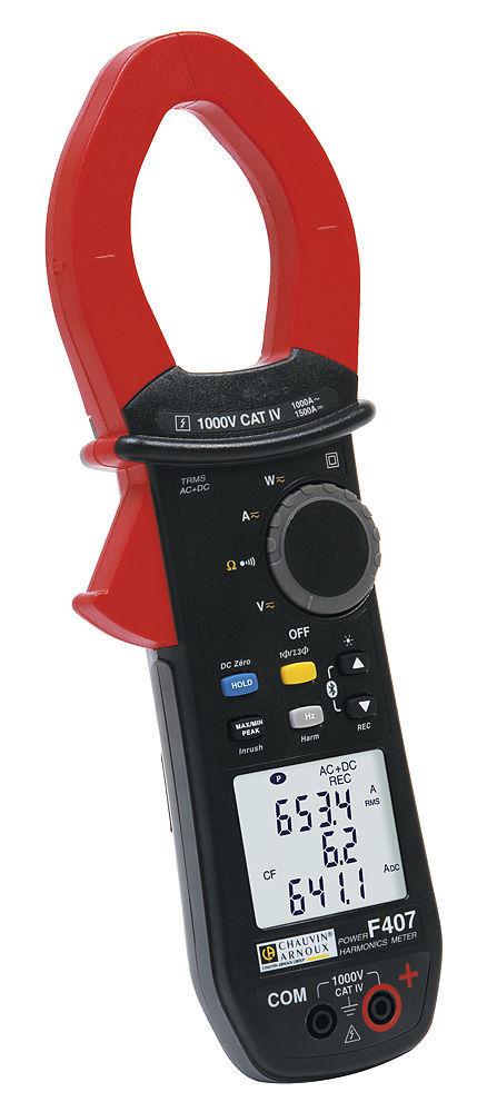 Ampe kìm vạn năng điện tử Chauvin model F407