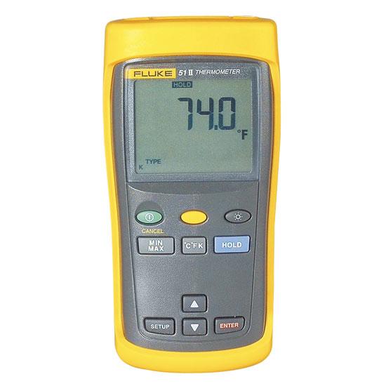 Thiết bị đo nhiệt độ tiếp xúc 1 kênh Fluke 51 II (51-2)