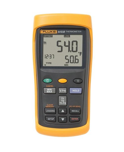 Thiết bị đo nhiệt độ 2 kênh Fluke 54 IIB