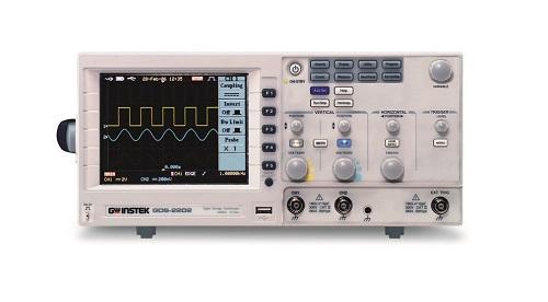 Máy hiện sóng số GWinstek GDS-2202E (200Mhz, 2CH,1Gsa/s)