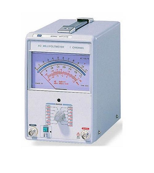Thiết bị đo điện áp âm tần GWinstek GVT-417B