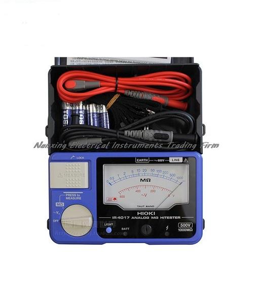 Đồng hồ đo điện trở cách điện (500V/1000M-ohm)