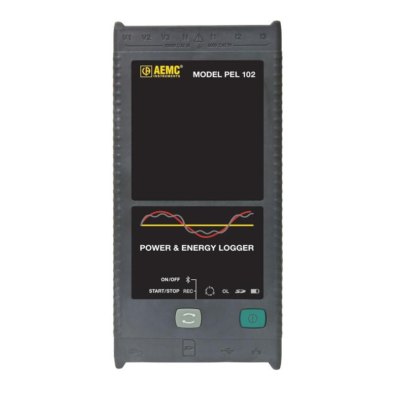Thiết bị ghi dữ liệu công suất và năng lượng Chauvin model PEL102