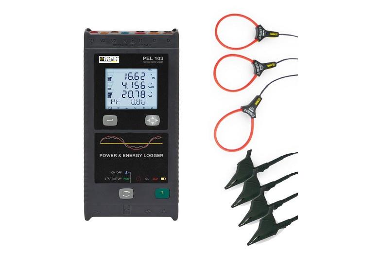 Thiết bị ghi dữ liệu công suất và năng lượng Chauvin model PEL103
